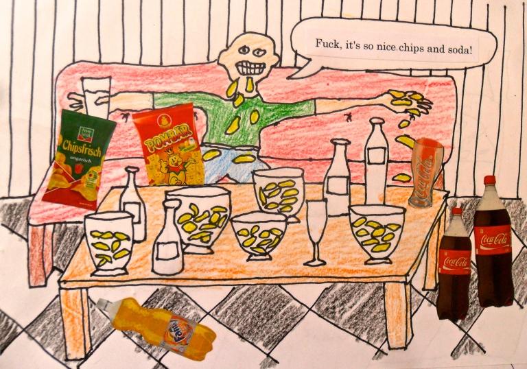 chips n soda maja bjork