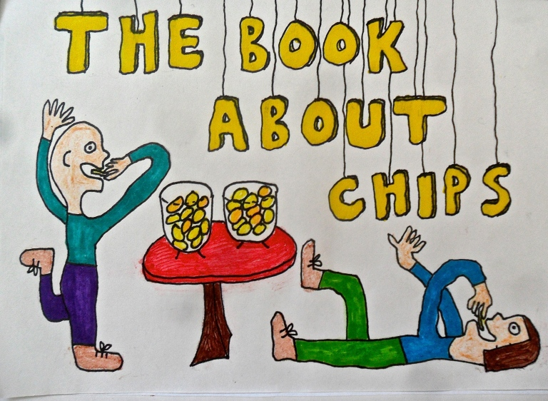 the book about chips maja björk