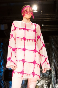 Pink dress, mini collection 2014, Maja Björk