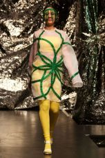 Green dress, mini collection 2014, Maja Björk