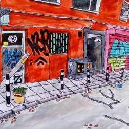 Sofia street, Maja Björk